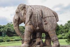 Free Ancient Granite Elephant Stock Photos - 48847133