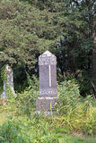 An Ancient Grave Marker Royalty Free Stock Photos