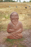 Ancient grave statues Stock Photography