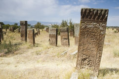 Ancient graves Royalty Free Stock Photography