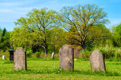 Ancient graves Royalty Free Stock Images