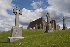 Ancient graveyard royalty free stock photos