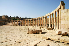 Ancient Greco-Roman Ruin in Jordan Royalty Free Stock Photography