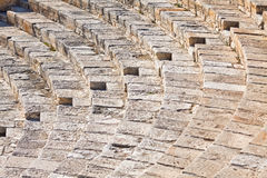 Ancient Greco-Roman theater in Kourion, Cyprus Stock Photos