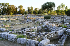 ancient city of Eretria Euboea Greece Royalty Free Stock Images