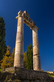 Ancient Greece, Kos island, ancient Agora (market) Royalty Free Stock Photos