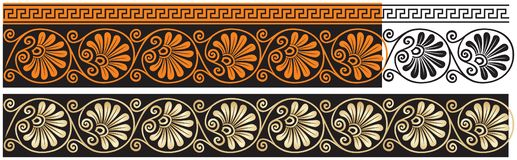 Free Ancient Greece Vector Classic Ornament 2, Acanthus, Meander, Decor Stock Photo - 131070170
