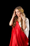 Ancient greece woman Royalty Free Stock Photos