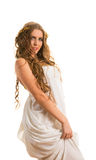 Ancient greece woman Royalty Free Stock Photo