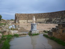 Ancient greek archeological site salamis Royalty Free Stock Images