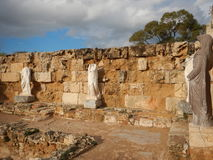 Ancient greek archeological site salamis Royalty Free Stock Photos