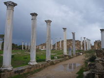 Ancient greek archeological site salamis Stock Photo