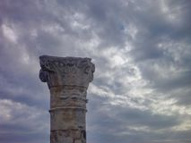Ancient greek archeological site salamis Stock Images