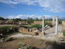Ancient greek archeological site salamis Royalty Free Stock Photo