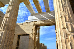 Ancient Greek architecture Royalty Free Stock Photo