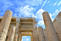 Ancient Greek architecture Royalty Free Stock Photos