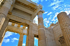 Ancient Greek architecture Stock Image