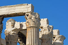 Ancient Greek architecture Royalty Free Stock Image