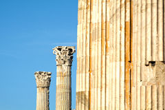 Ancient Greek architecture Stock Photos