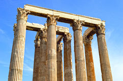 Ancient Greek architecture Royalty Free Stock Images