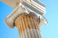 Ancient greek architecture detail - Acropolis - Athens Royalty Free Stock Image