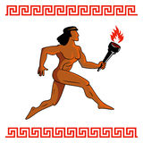 Ancient Greek athlete Royalty Free Stock Image