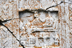 Ancient Greek Bas-Relief Royalty Free Stock Photo