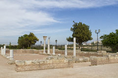 Ancient Greek basilica Royalty Free Stock Photography