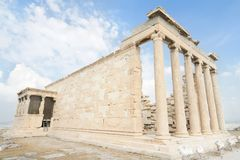Ancient greek building Royalty Free Stock Images