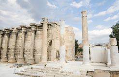 Ancient greek building Royalty Free Stock Photography