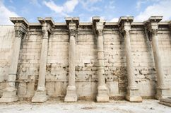 Ancient greek building Stock Photo