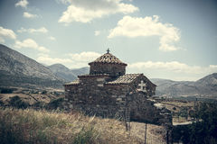 Ancient greek church Royalty Free Stock Image