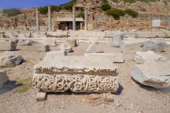 Ancient Greek city of Caria and part of the Dorian Hexapolis. royalty free stock image