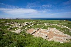 Ancient greek city Chersonese. Sevastopol. Crimea. Ukraine. Stock Images