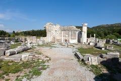 The ancient Greek city Ephesus Royalty Free Stock Photo