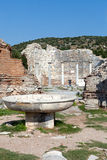The ancient Greek city Ephesus Stock Images