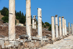 the ancient Greek city Ephesus Royalty Free Stock Photography