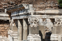 The ancient Greek city Ephesus Royalty Free Stock Photos