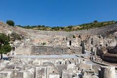The ancient Greek city Ephesus. Greek-Roman amphitheater in  the ancient  city Ephesus Stock Photography