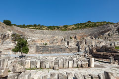 The ancient Greek city Ephesus Stock Photo