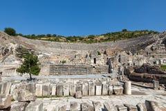 The ancient Greek city Ephesus. Greek-Roman amphitheater in  the ancient  city Ephesus Stock Photo