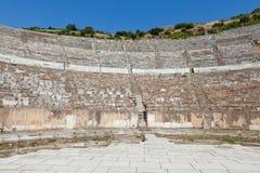 The ancient Greek city Ephesus. Greek-Roman amphitheater in  the ancient  city Ephesus Stock Image
