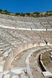 The ancient Greek city Ephesus. Greek-Roman amphitheater in  the ancient  city Ephesus Royalty Free Stock Images