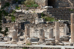 the ancient Greek city Ephesus Stock Images