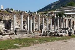 The ancient Greek city Ephesus Stock Photos