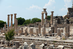 Ancient Greek city Ephesus Royalty Free Stock Images