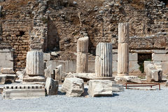 Ancient Greek city Ephesus Stock Photos