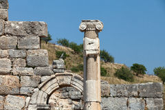 Ancient Greek city Ephesus Royalty Free Stock Photo