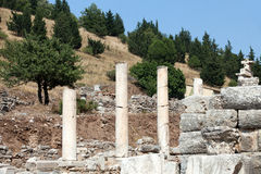 Ancient Greek city Ephesus Royalty Free Stock Photos