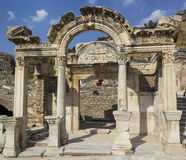 Ancient Greek city Ephesus Royalty Free Stock Photography
